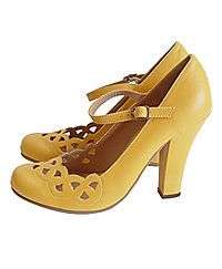 Mustard Lattice MJ Pumps